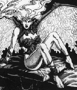 Секс с демоном во сне